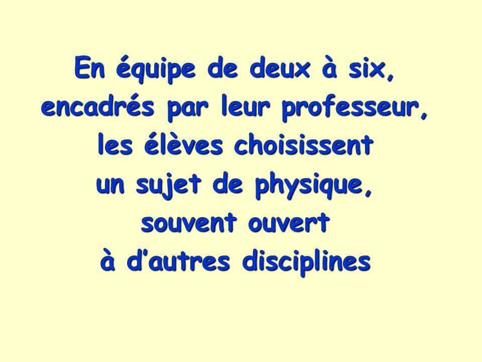des sujets qui passionnent des lycéens de première et terminale, tels que : Lycée Blaise Cendrars - Sevran Lycée Pasteur - Hénin-Beaumont Comment la sève monte-t-elle dans les arbres .