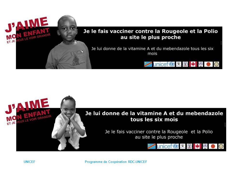 UNICEFProgramme de Coopération RDC-UNICEF