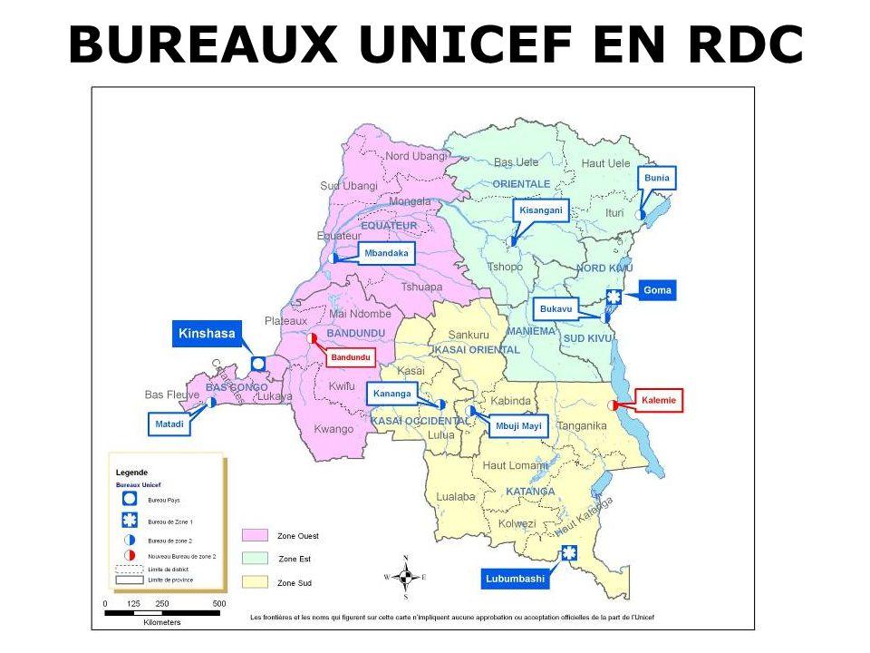 UNICEFProgramme de Coopération RDC-UNICEF LECONS TIREES La recherche et la diversification des partenaires crédibles au sein des réseaux et associations au niveau opérationnel peut constituer une des réponses au désengagement des volontaires/relais communautaires et à la durabilité et pérennisation des interventions.
