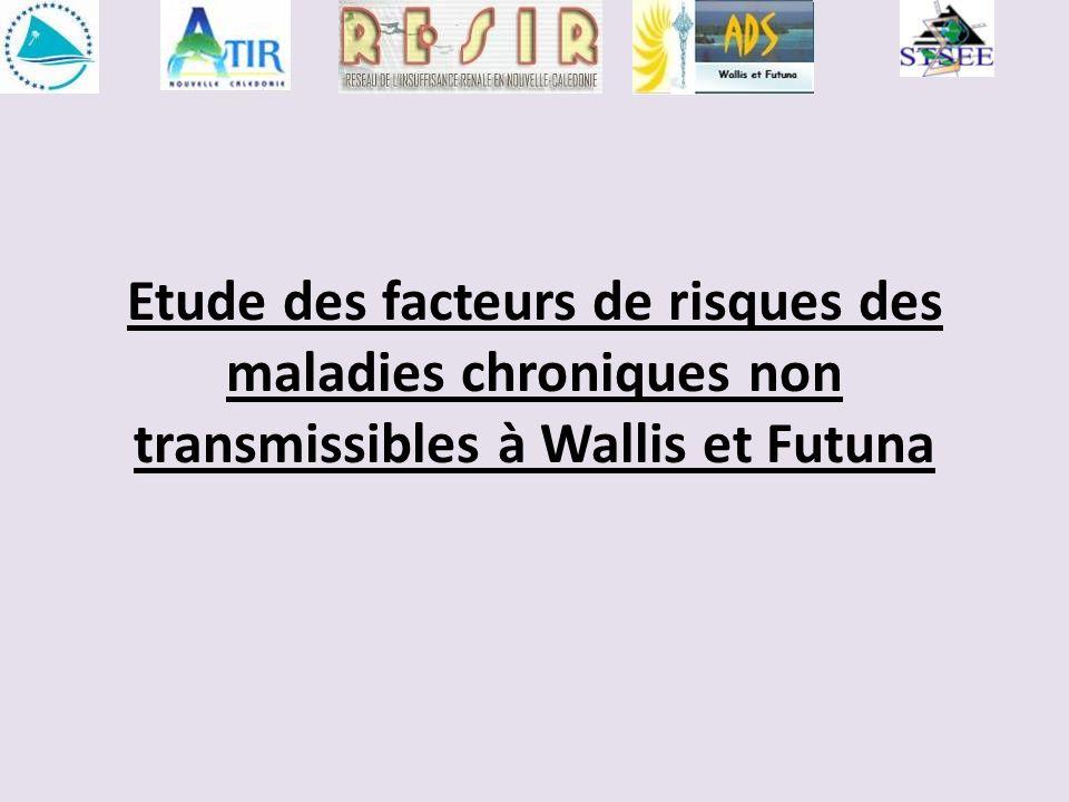 Etude des facteurs de risques des maladies chroniques non transmissibles à Wallis et Futuna