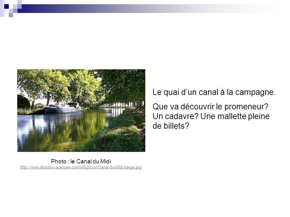 Photo : le Canal du Midi http://www.absolu-vacances.com/a%20voir/Canal-du-Midi-barge.jpg http://www.absolu-vacances.com/a%20voir/Canal-du-Midi-barge.j