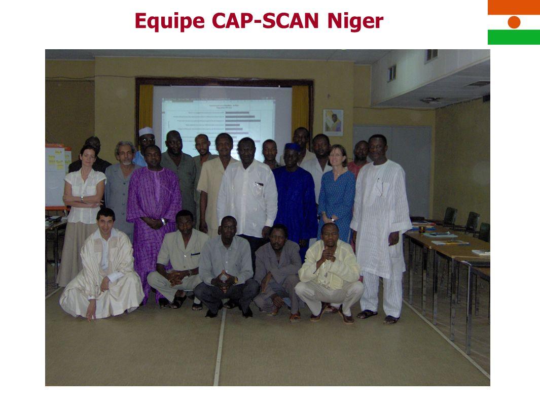 Equipe CAP-SCAN Niger