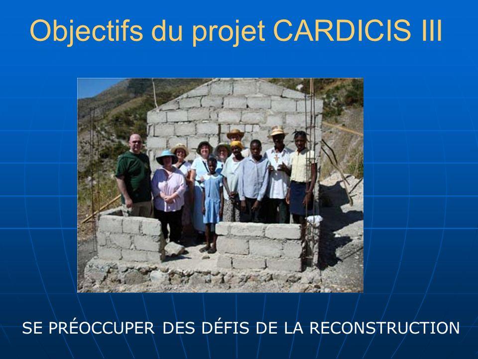 CARDICIS 3 : PHASES 1- Phase de préparation janvier 2010 - juin 2010 janvier 2010 - juin 2010 2- Atelier : production dun plan daction avec activités définies.
