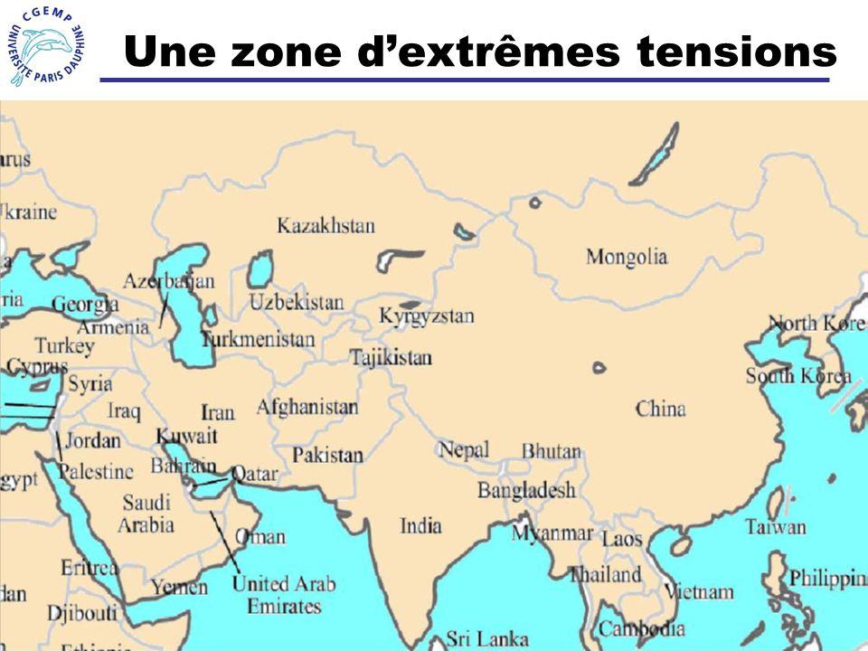 24 Une zone dextrêmes tensions