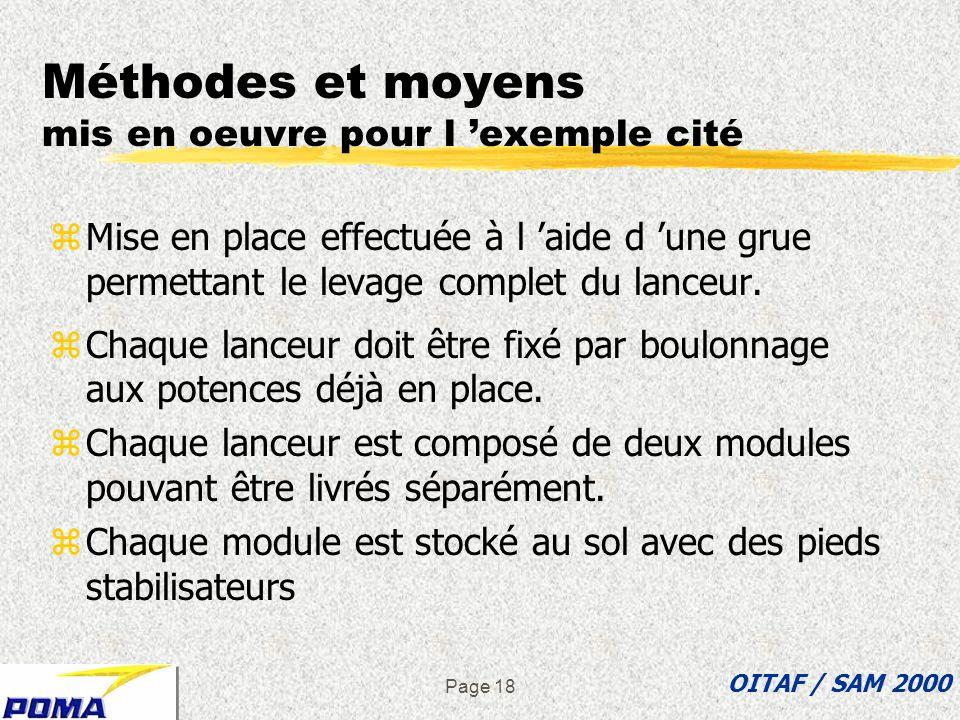 Page 17 Aspects à examiner lors d une ASDEC zActions à mener ? zPar qui, par quels moyens ? zSituations dangereuses ou critiques associées ? zFacteurs
