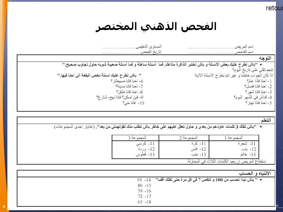 9 Version arabe validée: Mosquée Bol (Sahfa) La Tunisie Médicale.