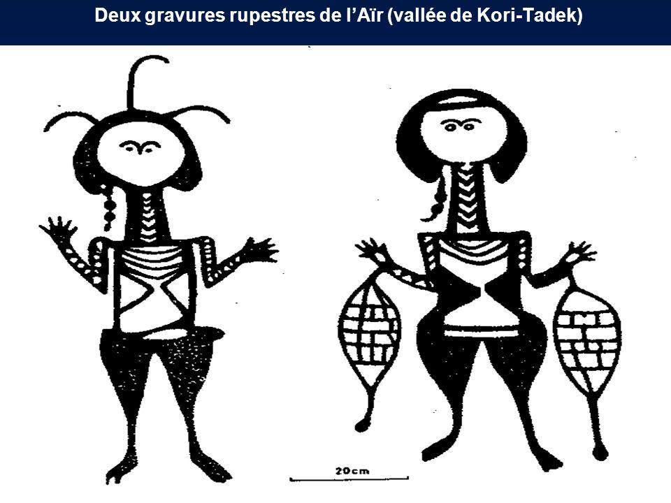 Deux gravures rupestres de lAïr (vallée de Kori-Tadek)