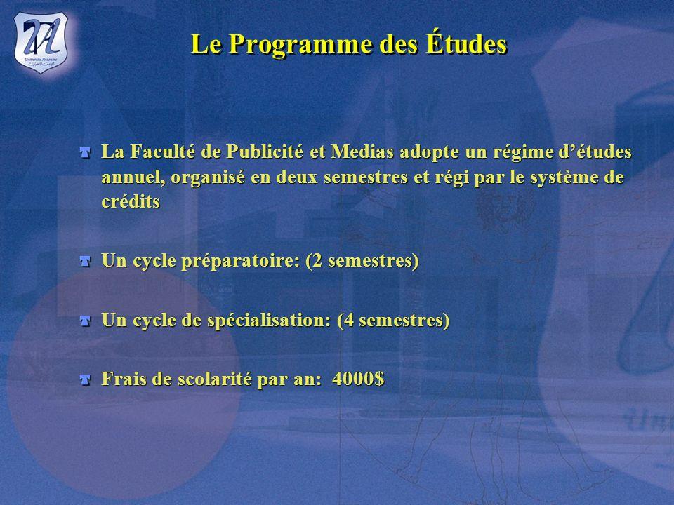Faculté De Publicité et de Médias - Advertising - Université Antonine