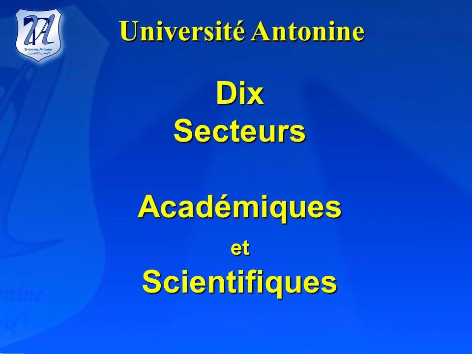 Campus de lUniversité Antonine à Baabda