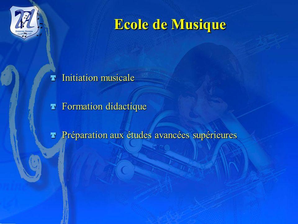 Institut Supérieur deMusique Université Antonine