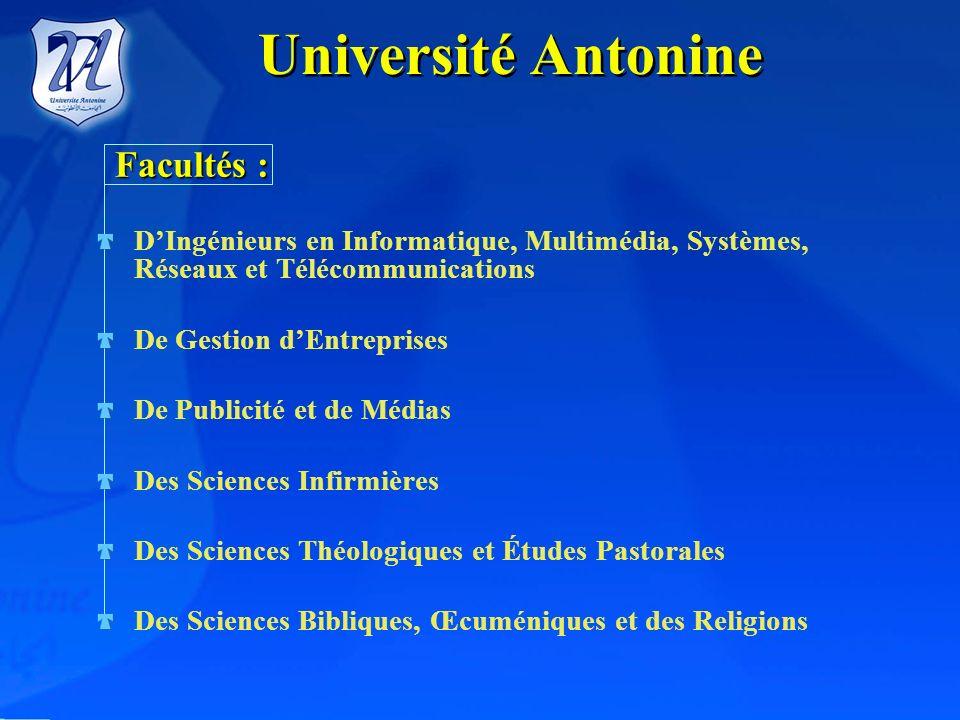 DixSecteursAcadémiquesetScientifiques Université Antonine