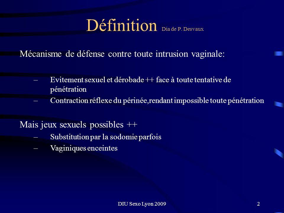 DIU Sexo Lyon 20093 Définition Dia de P.