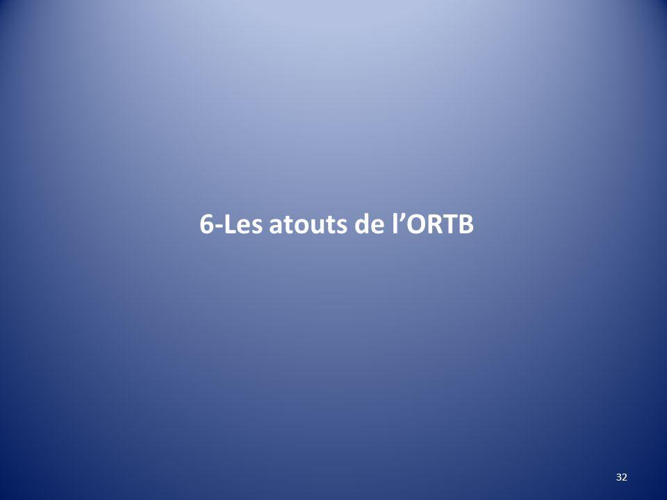 6-Les atouts de lORTB 32