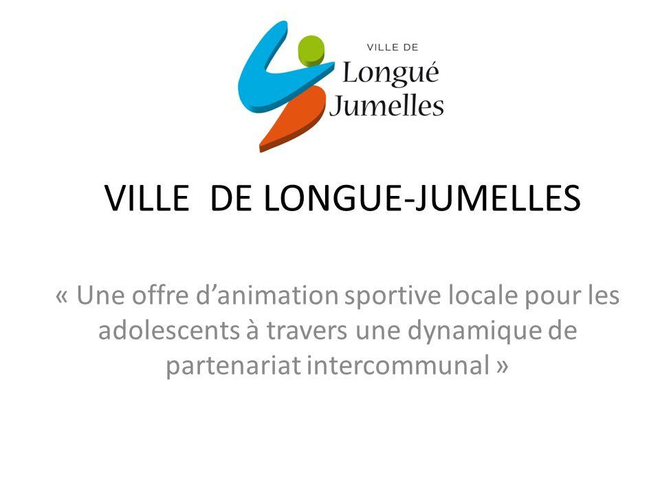 VILLE DE LONGUE-JUMELLES « Une offre danimation sportive locale pour les adolescents à travers une dynamique de partenariat intercommunal »