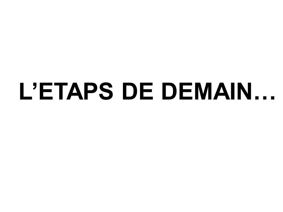 LETAPS DE DEMAIN…