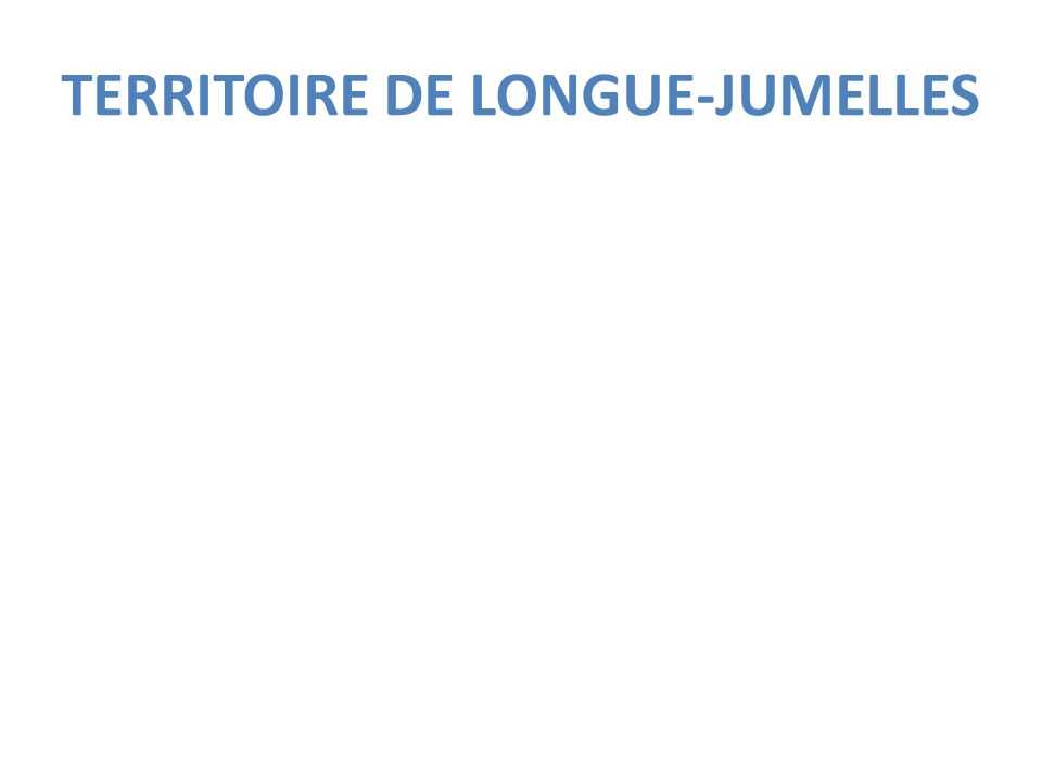 Quelques chiffres sur Longué-Jumelles Situé dans le Maine et Loire, dans larrondissement de Saumur, chef lieu de canton, Communauté de Communes Loire-Longué (avec une compétence jeunesse 13-17 ans).