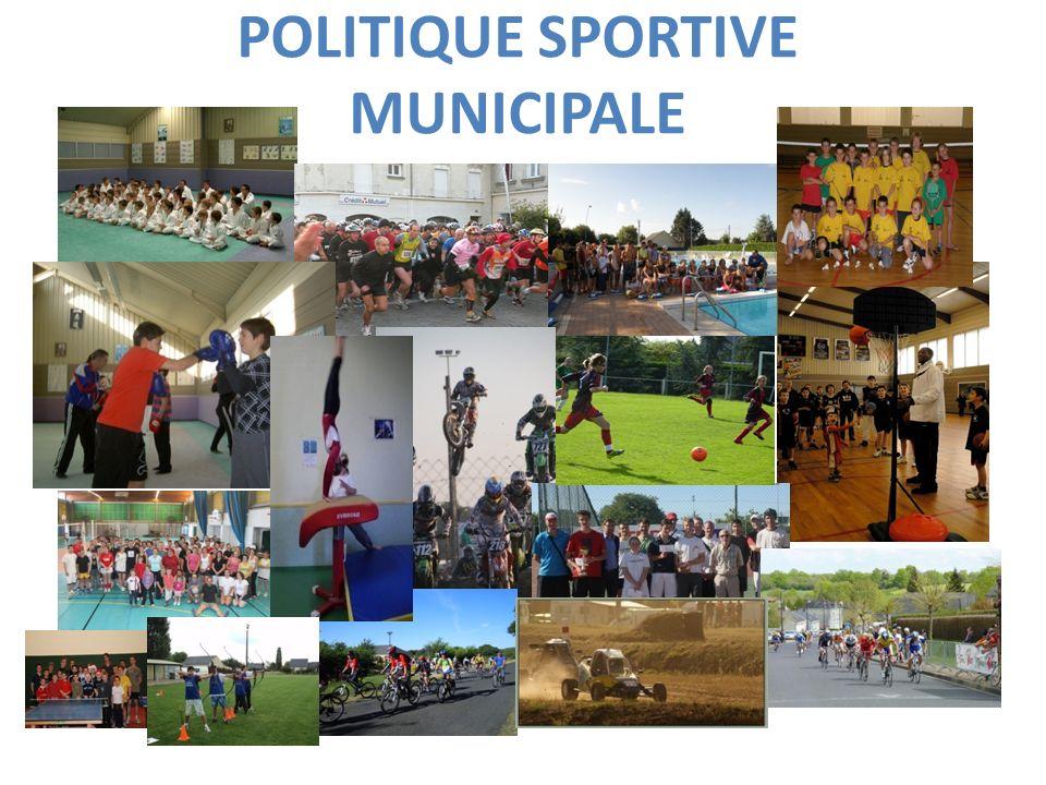 - Amélioration des structures sportives.- Développer le service municipal des sports.