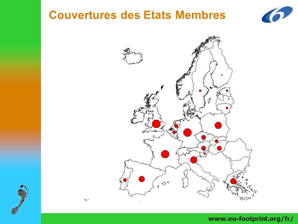 www.eu-footprint.org/fr/ Couvertures des Etats Membres