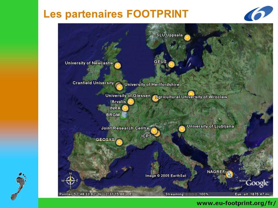 www.eu-footprint.org/fr/ Les partenaires FOOTPRINT www.eu-footprint.org/fr/