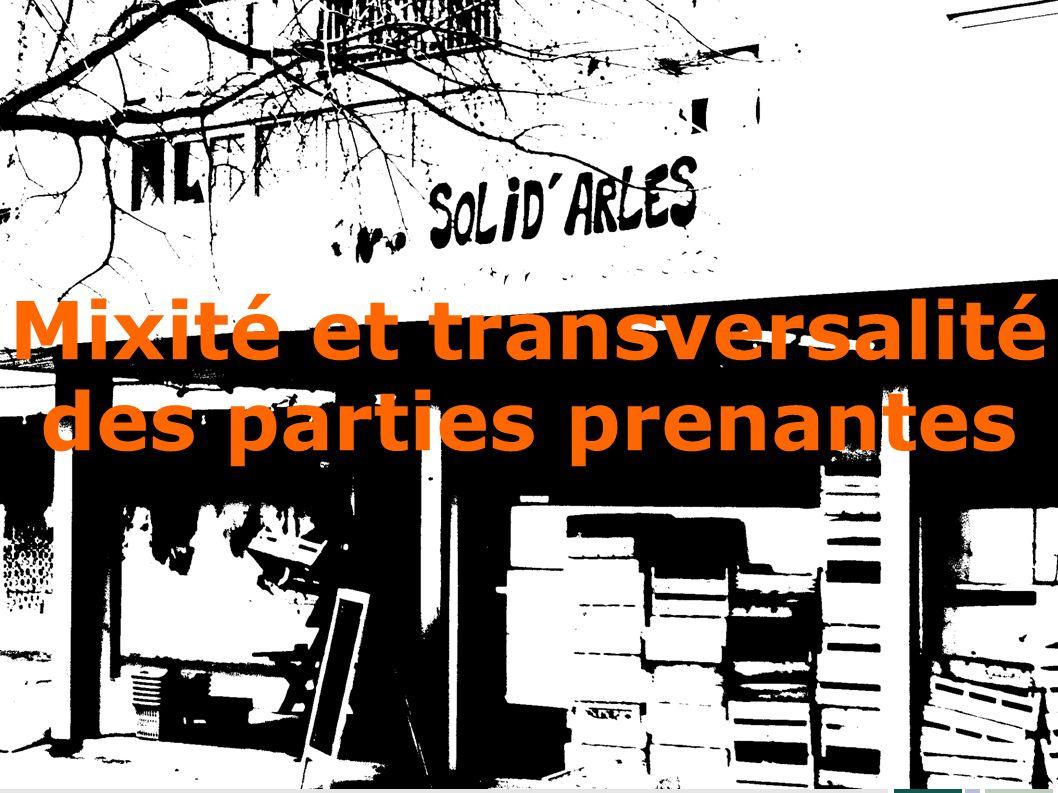 Mixité et transversalité des parties prenantes