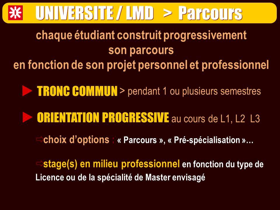 Université 1.Marketing international 2. Tourisme international 3.