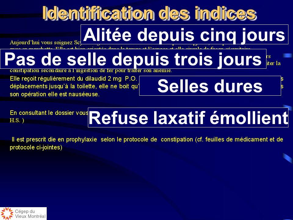 Laxatif émollient Prescrit die en prophylaxie Clarification des termes