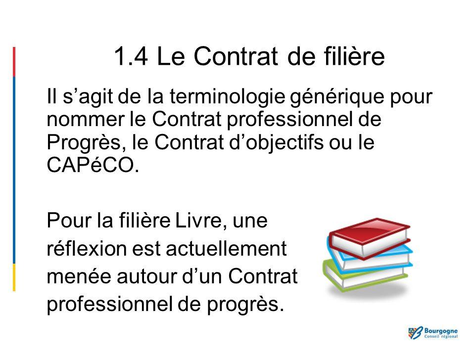 Un Contrat de filière fait suite à un besoin recensé dune filière lors de discussions collectives : aucune obligation nest imposée aux professionnels.
