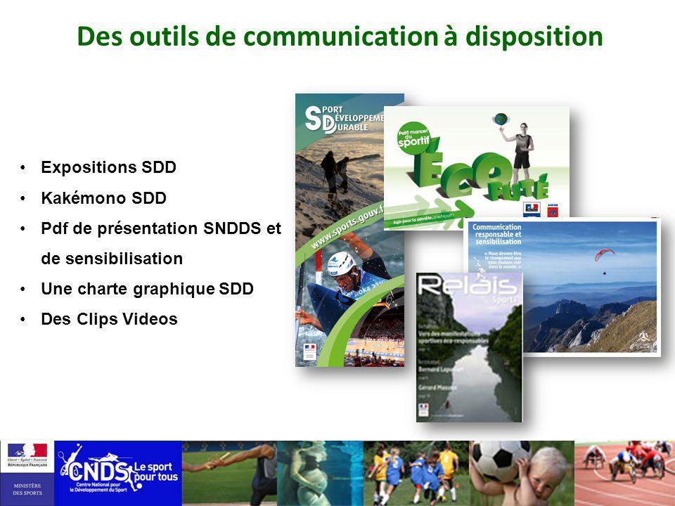 Des outils de communication à disposition Expositions SDD Kakémono SDD Pdf de présentation SNDDS et de sensibilisation Une charte graphique SDD Des Cl