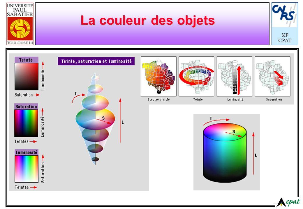 SIPCPAT La couleur des objets