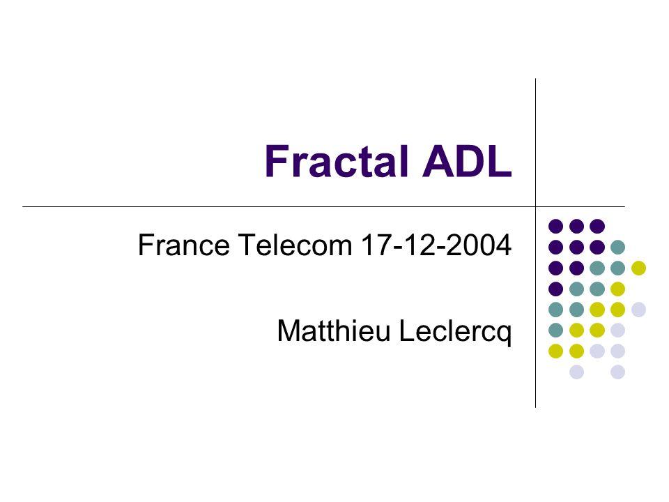 Fractal ADL France Telecom 17-12-2004 Matthieu Leclercq