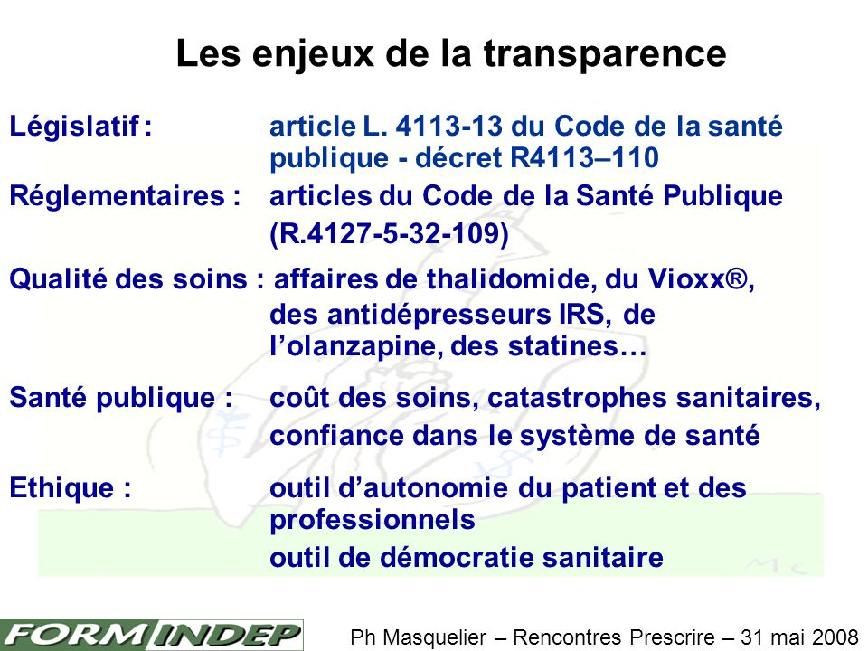Pour en savoir plus: Health Industry Practices That Create Conflicts of Interest A Policy Proposal for Academic Medical Centers Article du JAMA.