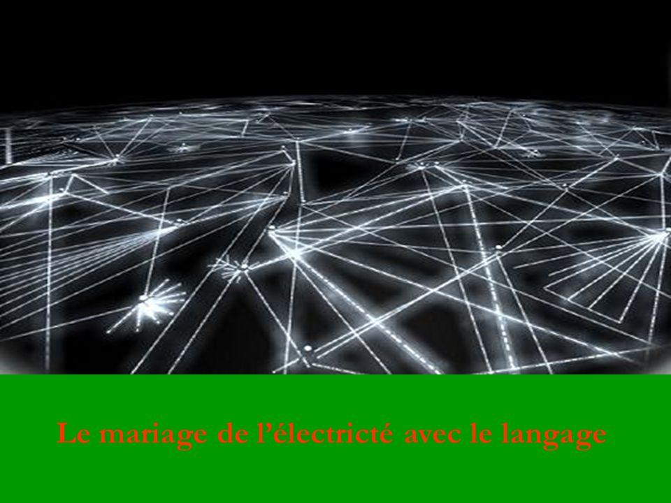Le mariage de lélectricté avec le langage