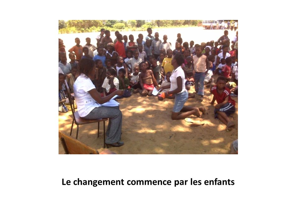 Le changement commence par les enfants