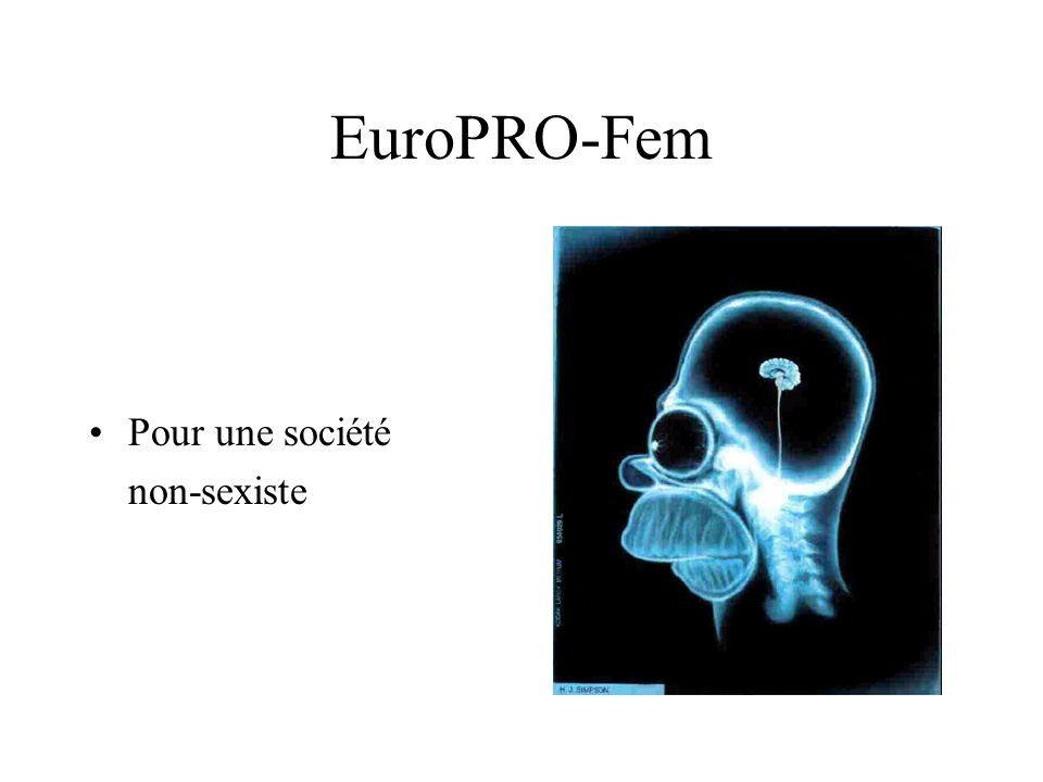EuroPRO-Fem Pour une société non-sexiste
