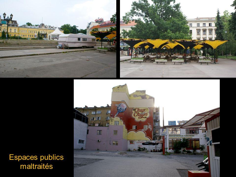 Espaces publics maltraités