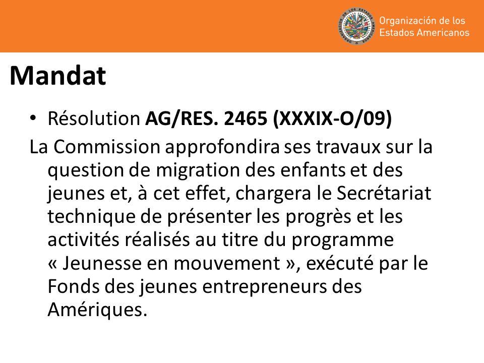 I.Jeunesse en mouvement « Initiatives de promotion du développement local et dappui aux jeunes en risque de migration pour quils accèdent au marché du travail local » dans le cadre du Programme sur la migration et le développement du Secrétariat exécutif au développement intégré (SEDI).