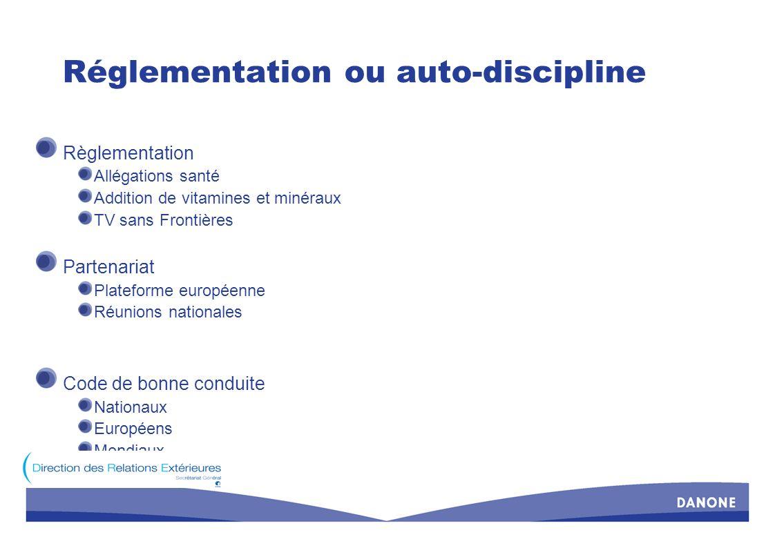 Les « Allégations santé » (1) Un véritable espoir Une clarification nécessaire Une harmonisation indispensable Un règlement attendu