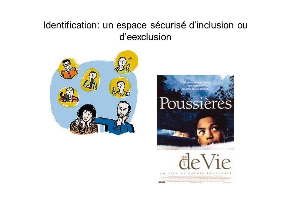 Identification: un espace sécurisé dinclusion ou deexclusion