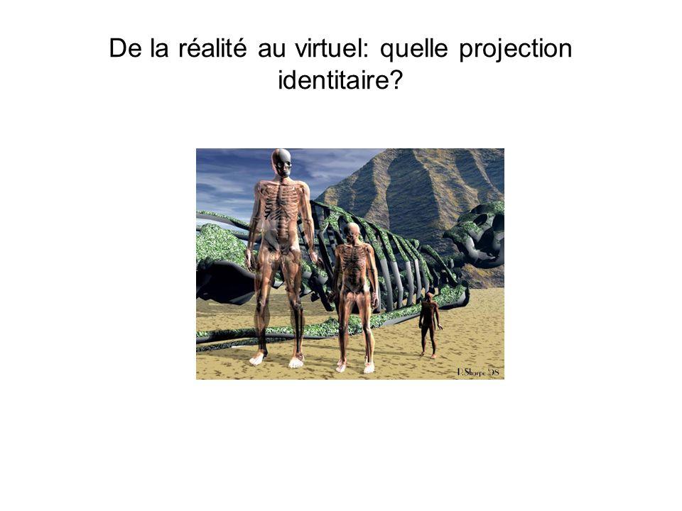 De la réalité au virtuel: quelle projection identitaire?