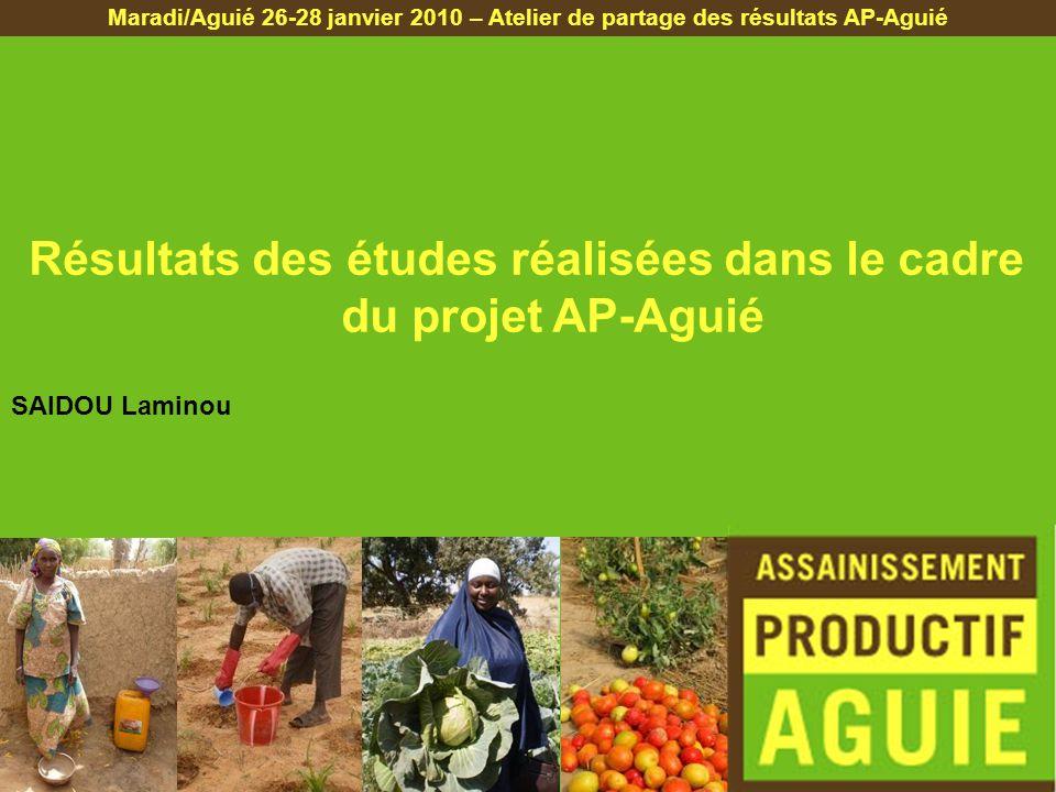 1.Etudes agronomiques 2.Etude des caractéristiques agronomiques 3.Etude organoleptique 4.Etude risques/ressources 5.Etude institutionnelle 6.Etude sur la réduction des coûts PLAN DE LA PRESENTATION