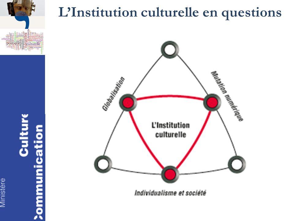 LInstitution culturelle en questions