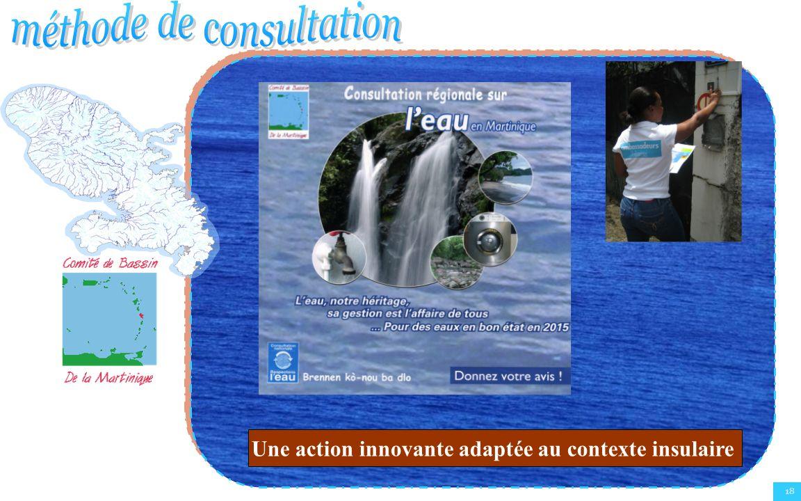 18 Une action innovante adaptée au contexte insulaire