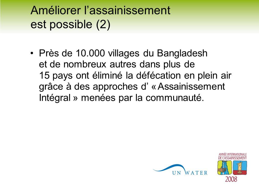 Près de 10.000 villages du Bangladesh et de nombreux autres dans plus de 15 pays ont éliminé la défécation en plein air grâce à des approches d « Assa
