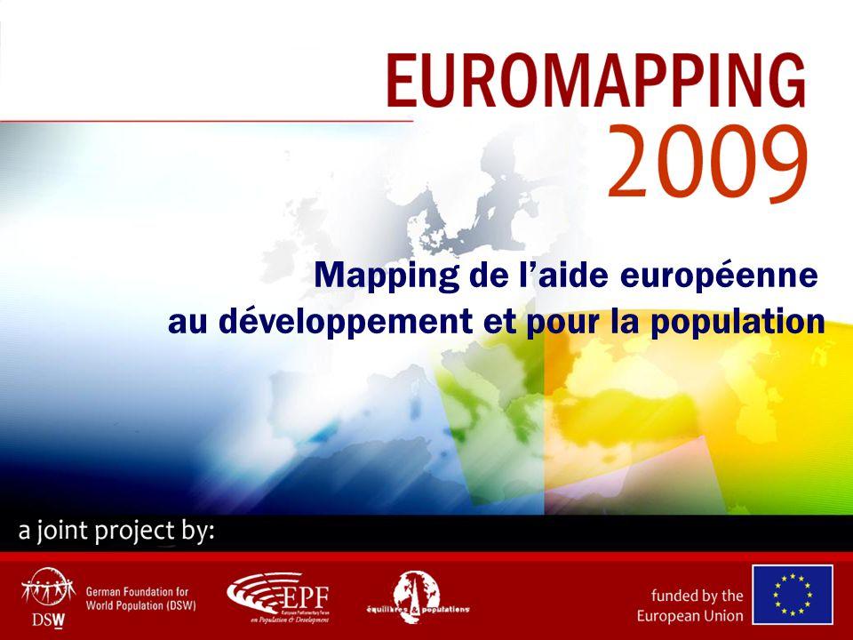 Mapping de laide européenne au développement et pour la population