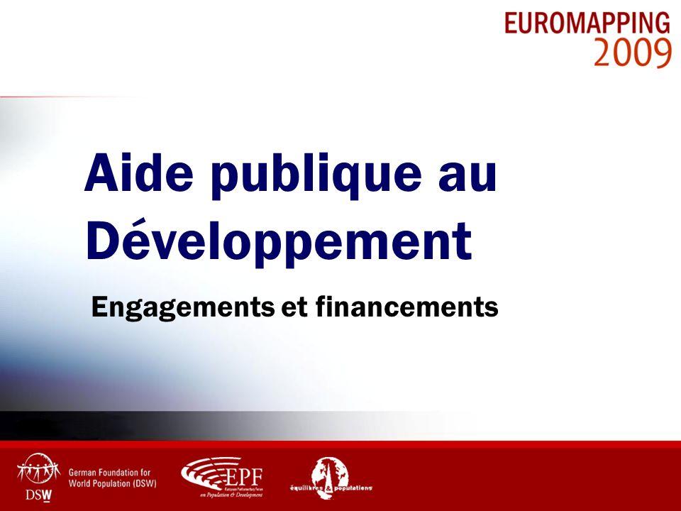 Aide publique au Développement Engagements et financements