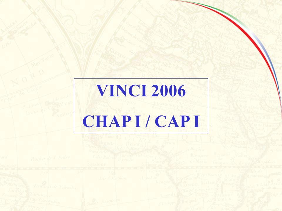 VINCI 2006 CHAP I / CAP I