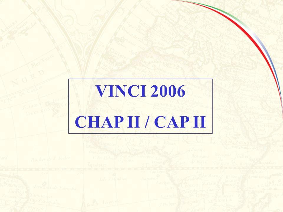 VINCI 2006 CHAP II / CAP II