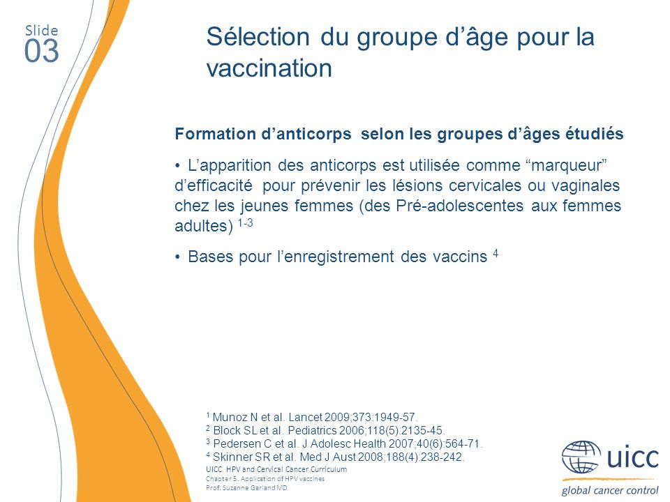 UICC HPV and Cervical Cancer Curriculum Chapter 5.