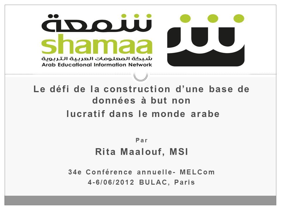 6 juin 2012 www.shamaa.org 2 A.Présentation B. Objectifs C.
