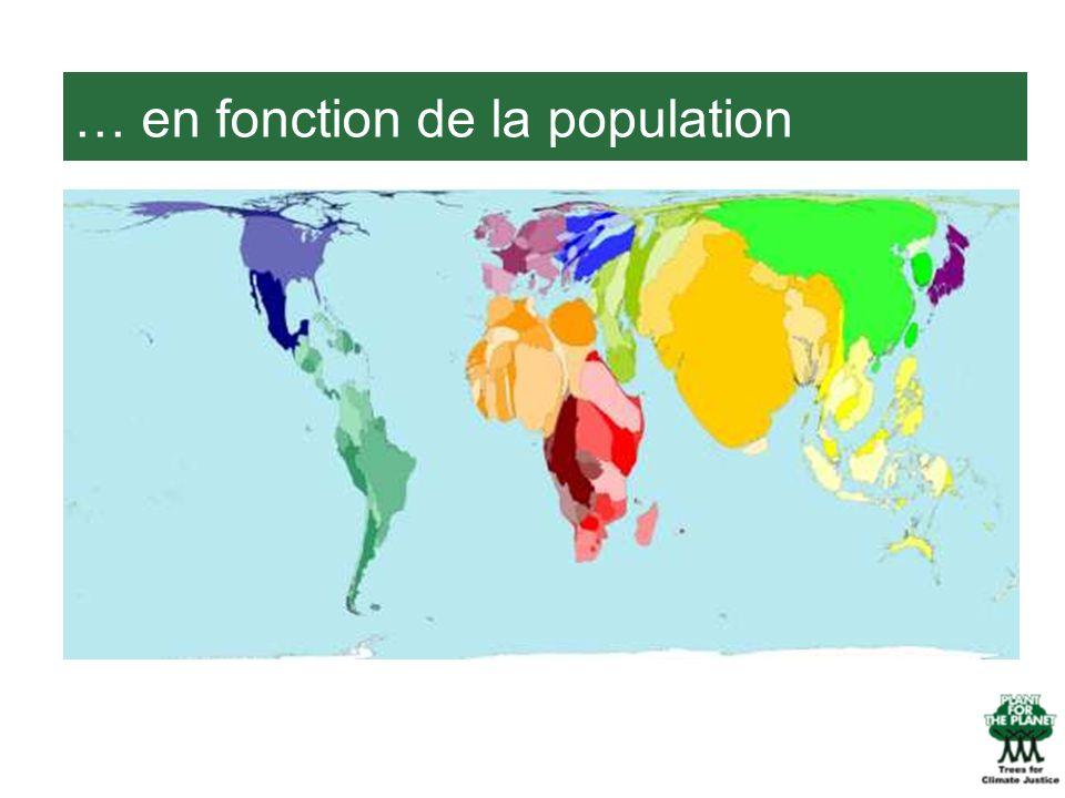 … en fonction de la population
